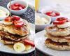 Resep Aneka Pancake, Pancake Strawberry, Pancake Cokelat