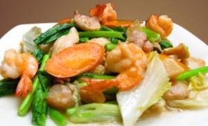 Resep Capcay Goreng Seafood Lezat
