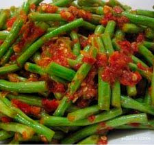 resep tumis kacang panjang
