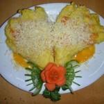 Resep Spesial Pisang Goreng Keju Bentuk Kipas
