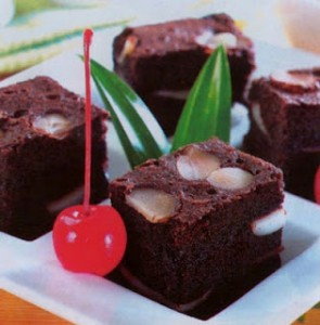 cara membuat brownies kukus