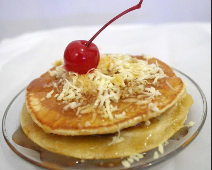 Resep Pancake Keju