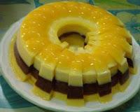 Resep Puding Cake Bermotif Spesial Mantap