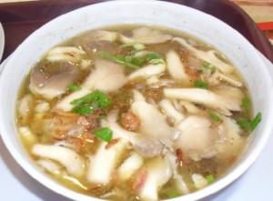 Cara Membuat Sup Ikan Jamur Tiram Putih Sedap