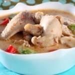 Resep Cara Membuat Sup Ayam Santan Spesial