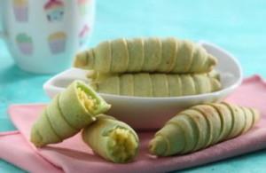 cara membuat molen kacang hijau