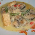 Cara Membuat Ikan Tongkol Santan Pedas