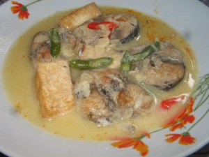 Resep Membuat Ikan Tongkol Santan Pedas