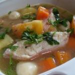 Cara Membuat Sup Ikan Salmon Sedap Enak