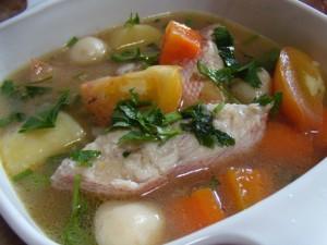 Resep dan Cara Membuat Sup Ikan Salmon Sedap