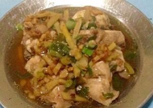 Cara Membuat Ayam tim jahe