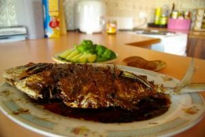 Cara Membuat Bacem Ikan Bawal Enak