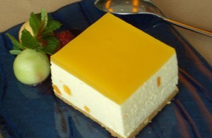 Cara Membuat Cheese Cake Mangga