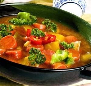 Resep Membuat Tumis Brokoli Sosis