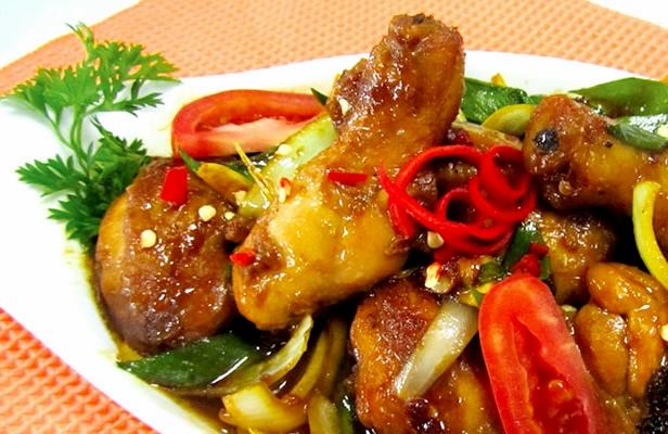 resep chicken teriyaki enak pedas resepmembuat com