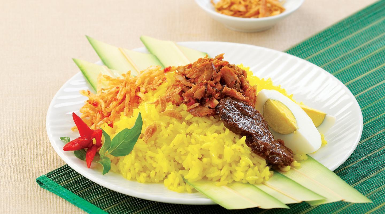 15. resep nasi kuning manado