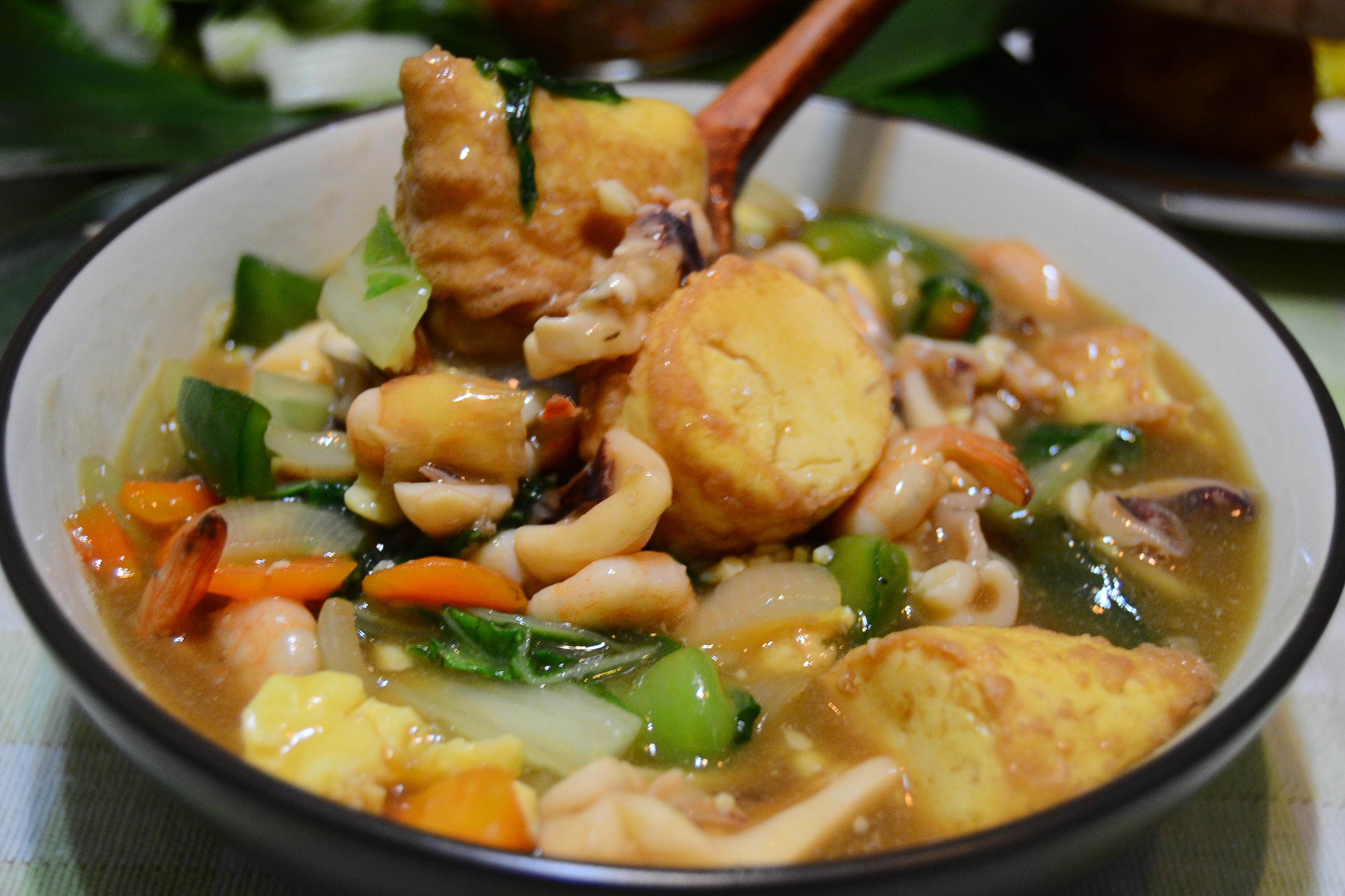 Resep Sapo Tahu Seafood Solaria Spesial