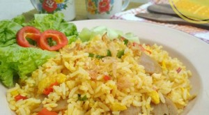 resep nasi goreng kunyit kencur