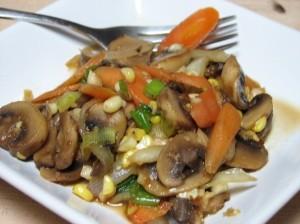 resep tumis jamur kancing pedas