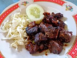 resep sate daging sapi goreng
