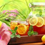 Resep Membuat Minuman Segar Es Lemon Tea