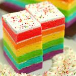 Resep Cara Membuat Rainbow Cake Spesial