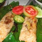 Resep Nasi Bakar Isi Ayam Lezat dan Sedap