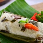Cara Membuat Pepes Daun Bawang dengan Nasi