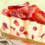 Cara Membuat Strawberry Cheese Cake Lembut