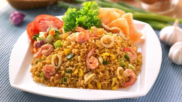 Resep Nasi Goreng Seafood Enak Spesial