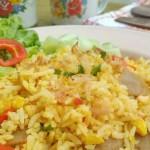 Resep Membuat Nasi Goreng Kunyit Kencur Enak dan Pedas
